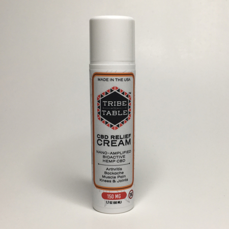 Tribe CBD Relief Cream