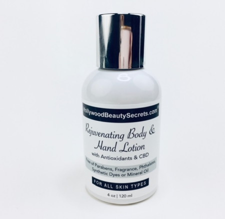 Rejuvenating Body & Hand Lotion with Antioxidants & CBD 1