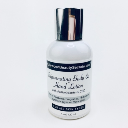 Rejuvenating Body & Hand Lotion with Antioxidants & CBD 2