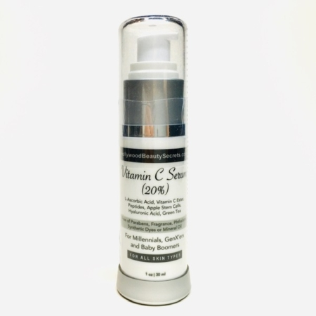 Vitamin C Serum (20%) with Peptides, Stem Cells & HA 3