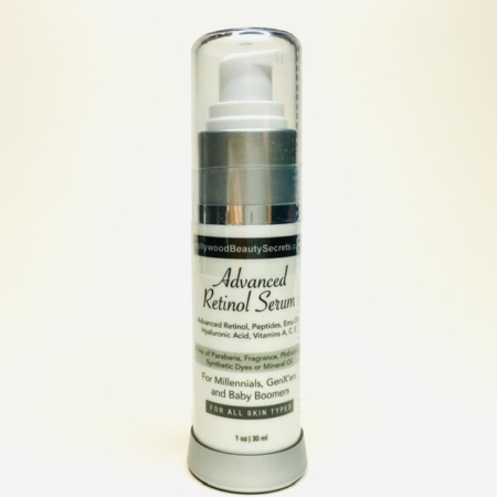 Advanced Retinol Serum with Peptides, HA and more 1